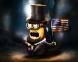 Minion Abraham Lincoln by AlexanderLevett