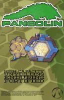 Pangolin Manufacturer Poster by Flich
