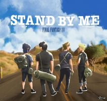 Stand by me - Final Fantasy XV by Jim-O-cr