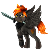 Firepone commission for ShadoWolf0913 by Buizel149