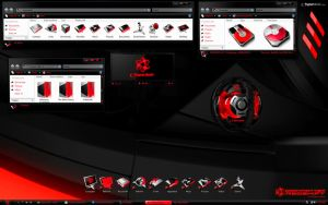 DarkMatter: RedShift Desktop by skinsfactory