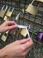 padlocks of love 40 by Meltys-stock