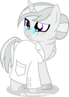 Dr. Zodiac (aka Silver Stripe) Project Horizons by Vector-Brony