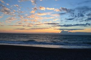 sunset in Abhazia 2 by AlenaKrause
