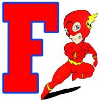 F is for Flash by norrit07