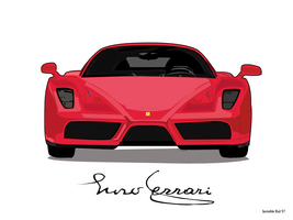 Ferrari Enzo by Invisible99