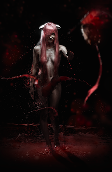 Elfen Lied: Lucy 3 by Cheza-Flower