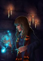 "Hermione ""Magic at Midnight"" by PetraImboden"