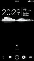 LG G2 Homescreen Rooted by bobi1024