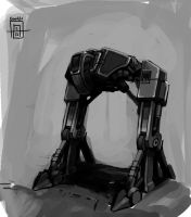 Mech Doodle by SirIce