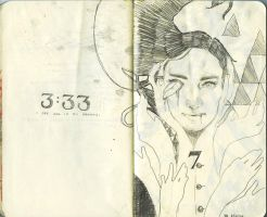 Sketchbook A: 31 and 32 by HYBRiDsunshIne