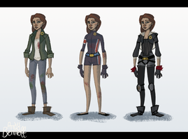 The Hunger Games: Outfits by AndyBennett
