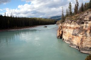 Canada - At Athabasca Falls by puppeteerHH