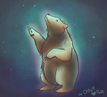 spirit bear by Paleona