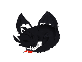 :Kiribian: Toothless by Ixchelia