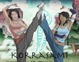 Korrasami Dance by wren-lee