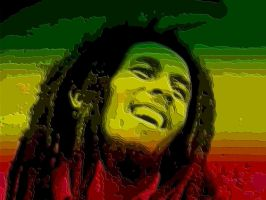Bob Marley by maymared