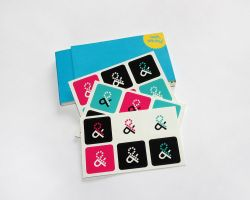 Print and Pixels Stickers by rbryant