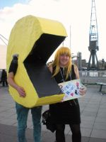 MCM Oct. - PacMan and Misa by WammyTardz