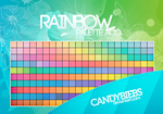 Rainbow Palette  by CandyBiebs