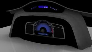 Car Textured HUD by RinnG