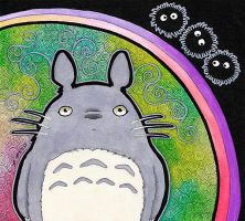 Totoro as Totem by Ravenari