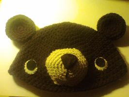 bear crochet beanie by adorablestejidos