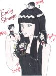 Emily Strange and friends by uber-neko