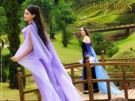Arwen and Luthien II by Angel--Arwen
