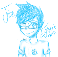 John Egbert - EgDERP by shadamy-lover9