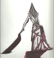 Pyramid Head - Silent Hill by TalentlessHacked