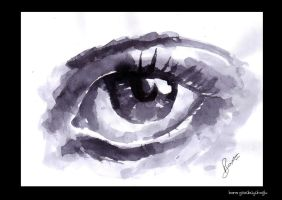 lavi painting eye by barisgbo