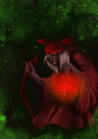 Red Witch by Nalika666