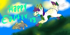 Happy Late Easter guyzzz by Shardx3