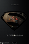 Man Of Steel Superman Poster by SuperDude001
