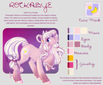 Rockabye Ref Sheet by XNedra22