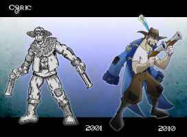 Cyric: Then and Now by chief-orc