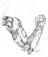 Diesel Punk Arm by EskimoMittens