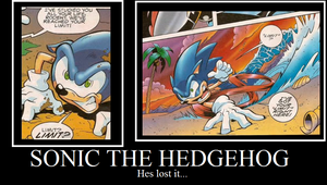 One word sonic cant stand by MagicalCustardSquire