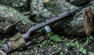 M1 Carbine Winchester - Woods are Our Friend by spaxspore