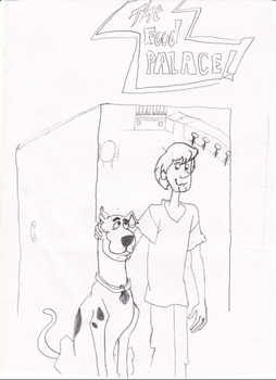 scooby and shaggy by ThatTMNTchick