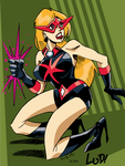Laser Lady 2 by LudHughes