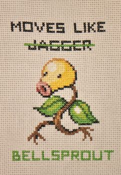 Moves like Bellsprout by OrganizationZero