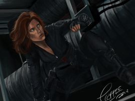 Avengers: Black Widow by ExplosiveCoffee