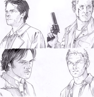 supernatural - in progress by nami64