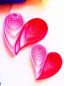 Hearts by moecona