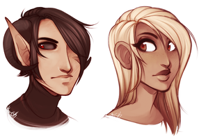 Faces by GeeKei