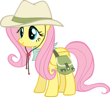 Researcher Fluttershy by Doctor-G