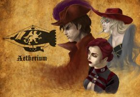 Aetherium Promo Poster by DominusAtra