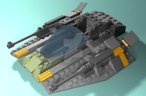 Lego Starship by trocloc